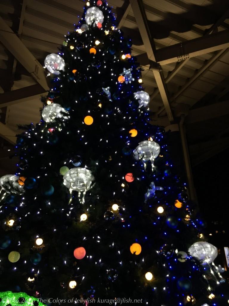 クラゲクリスマスツリー